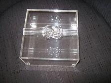 LUCITE JEWERLY BOX