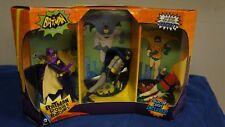 Batman Classic TV Series Figure Set of Three  BatMan and Robin and BatGirl
