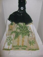 Crochet Kitchen Towel ~ Palm Trees ~ **Gift Idea