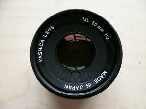 YASHICA - ML - 50mm - 1.2 - SLR CAMERA LENS - K MOUNT