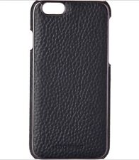 ADOPTED Phone Case Black Pebbled Leather iPhone 6 or 6 s BNIB