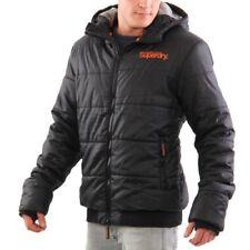 Abrigos y chaquetas de hombre negro Superdry de poliéster