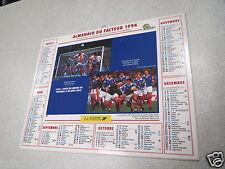 ALMANACH PTT calendrier des postes 1994 coupe du monde de football atlanta 1994*