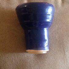 Shisha Ceramic Hookah Tobacco Heads Navy Bowl Medium W/ Free Rubber Wedge