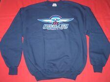 Sweatshirt Formula One Us Grand Prix Racing Indianpolis 2002 L Lrg Large Blue