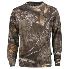 King's Camo Kids Realtree Edge Classic Cotton Long Sleeve Tee Shirt