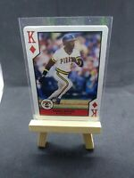 1990 U.S. Playing Card All-Stars King Diamonds Barry Bonds PSA? Gmcards HOF