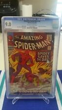 """Amazing Spider-man 40 CGC 9.0 """"END OF THE GREEN GOBLIN!"""" Possible Grade Bump!"""