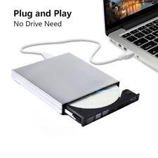 External USB2.0 DVD Blu-ray Burner CD DVD RW Rewriter 3D Disc for MACOSX WIN XP