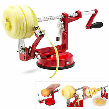 3in1 Apple Pear Peeler Corer Slicer Potato Cutter Parer Fruit Dicer Kitchen Tool