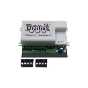 DigiTrax BD4N - DCC 4 Block Occupancy Detector    -