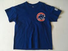 Authentic Majestic Chicago Cubs Kris Bryant 17 World Series Jersey Style Shirt