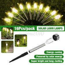 16Pcs Solar Lawn LED Lamp Garden Solar Power Light For Outdoor Yard Waterproof