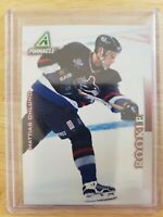 1997-98 Pinnacle Hockey #8 Mattias Ohlund RC Vancouver Canucks Rookie Card