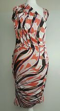 Bnwt EMILIO PUCCI patterned sleeveless fitted/tunic.dress uk 12/44.£1055