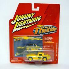 JOHNNY Rayo 1963 Chevy Corvette Chevy Trueno Die-cast MOC 2004