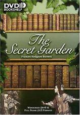 THE SECRET GARDEN DVD FRANCES HODGSON BURNETT CHILDRENS AUDIO BOOK