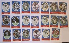 1972 Sunoco / Nfl Football Stamps - Houston Oilers - Lot Of 20 rare