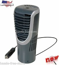 12V 12 Volt Personal Tower Fan Auto Car Truck Vehicle Cup Holder Compact