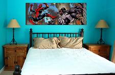 SPIDER-MAN VS VENOM collectible poster wall art marvel comics new wide