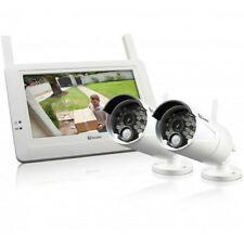 "SWANN SW-DIGMONKITPK2-AU CCTV SYSTEM 2X WIRELESS CAMERAS + 7"" LCD MONITOR NIGHT"
