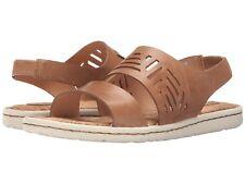 d000e9db54df BORN Faina Tan Leather Sandals NIB Wmns Sz 7 med   EUR 38
