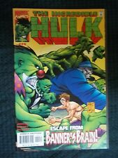 Marvel Comics 2000 #20 THE INCREDIBLE HULK - ESCAPE FROM BANNER'S BRAIN