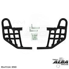Yamaha Raptor 350   Nerf Bars   Alba Racing  Black Black 209 T1 BB