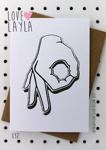 Friend Card/Birthday Card/Birthday/The Game/Cheeky/Love Layla/Funny/Humour/ L32