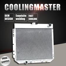 Fit Ford Mustang 69-70 Maverick 70-77 Mercury Comet 71-73 3Row Aluminum Radiator