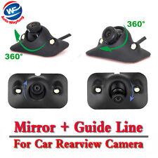 CCD HD Night Vision 360 Degree Car Rear View Camera Parking 170 Degree Viewing