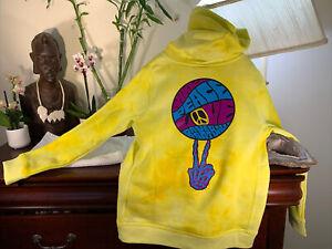 NEW Nike Peace Love Basketball GRATEFUL DEAD Sweatshirt Hoodie Kids Youth Size S