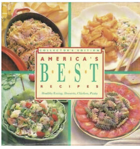 Collector's Edition America's BEST Recipes Healthy Eating, Desserts,.... Landoll