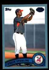 FELIX STERLING 105/309 BLUE BORDER ROOKIE CARD RC SP 2011 TOPPS PRO DEBUT #242