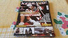 ZZ- REVISTA MAGAZINE KERRANG Nº91 - GUNS N´ROSES - VAI - RAGE - SOBER - WASP