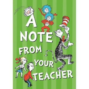 Dr. Seuss Cat in the Hat Teacher Cards by Eureka