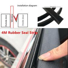 Car Side Window Trim Moulding Rubber Weatherstrip Abnormal Noise Seal Strip 4M