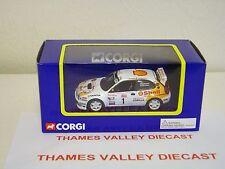 CORGI TY97302, STYLE B TOYOTA COROLLA WRC 98, 1:43 SCALE, MINT AND BOXED