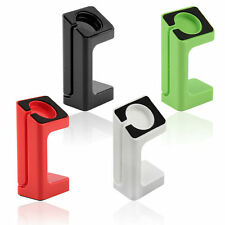 1X Black Charger Stand Holder Charging Docking Station For Apple Watch 38/42mm