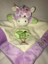 Aurora Baby Giraffe Purple Rock A Bye Baby Security Blanket Head
