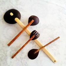 Coconut Shell Utensils - Hand Made - Eco Friendly