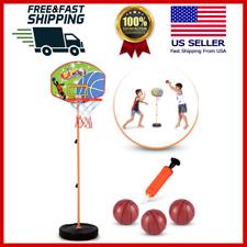 Kids Basketball Hoop Play Set – Adjustable Height 25-52 Inches Kids & s