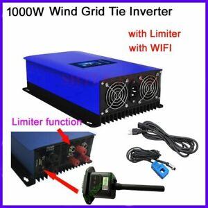 Wind Turbine Generator 1000W Power Grid Tie Inverter with Dump Load Controller