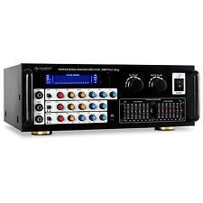 PRO AMPLI HYBRIDE SONO DJ PA HIFI KARAOKE EQ EFFET ECHO 600W 3X MIC IN 2X STEREO