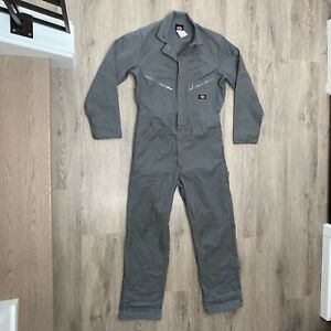 New Dickies Men's 48799 Deluxe Blend Long Sleeve Mechanic Work Coveralls Medium