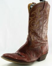 Nocona Boots Sz 14 D Brown Pointed Toe Cowboy Leather Men