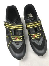 🌴Northwave X Support MTB Road Cycling Shoes Men's 10 Yellow Black Made In Italy