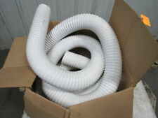 "25 ft. Thermoplastic Rubber Industrial Ducting Hose White 4"" ID"