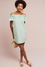 NWT  Anthropologie Bayside Off-The-Shoulder Dress Corey Lynn Calter Small Petite