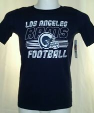 Los Angeles Rams Football Youth Kids Size Large 10/12 T-Shirt New With Tags